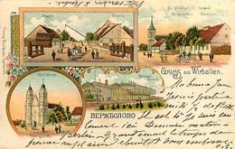 060121A - LITUANIE Gruss Aus WIRBALLEN - Lituanie