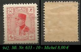 1933 - Mi. Nr. 633 - Irán