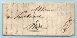 DE PONTBRIAND à Metz (Moselle). Au Départ De Paris.  On Parle Des Premiers De La Révolution De JUIN 1848 - 1801-1848: Precursori XIX