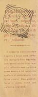 A46. Castrocielo. 1895. Annullo Tondo Riquadrato CASTROCIELO (CASERTA), Su Ricevuta Cartolina. BELLA. - Marcophilia