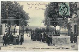CPA   ANGOULEME   107éme Régiment D'Infanterie -  Caserne Taillefer  N° 41 - Angouleme