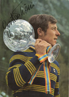 GUSTAV THONI - Vincitore Coppa Del Mondo Sci Alpino 1971 - (rif. D56) - Winter Sports