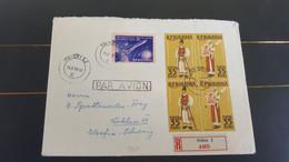 ROMANIA 1959 SIBIU Nice Registered Cover To Yugoslavia Par Avion Rpromina - Briefe U. Dokumente