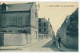 CPA   LION Sur MER  La Rue Des Bains  N° 2 - Altri Comuni