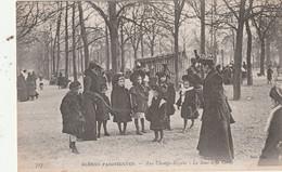 75 Paris. Scènes Parisiennes. Aux Champs Elysées.Le Saut à La Corde - Unclassified