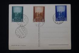 VATICAN - Affranchissement De 1943 Sur Carte Postale Du Pape Pie XII - L 84073 - Covers & Documents