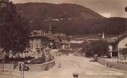 Vallorbe (VD) Place De L'Eglise - Ed. Marcel Deriaz, Photo., Vallorbe - VD Vaud