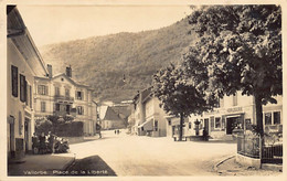 Vallorbe (VD) Place De La Liberté - Marcel Deriaz Editeur Vallorbe - VD Vaud