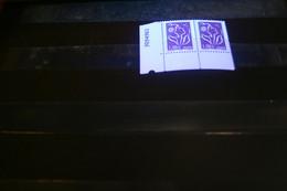 Variété Bandes Phospho à Cheval En Paire (Dallay3745 II A **) - Variedades: 2000-09 Nuevos