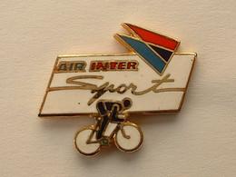 PIN'S CYCLISME VELO - AIR INTER SPORT - Wielrennen