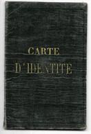 HARLY-ST-QUENTIN-Carte D'Identité 1939 Avec Timbres Fiscaux Divers...Griffe RECENSEMENT... - Other