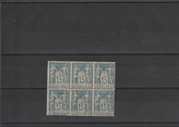 Bloc Timbre N° 101 - 1898-1900 Sage (Type III)