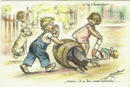 Illustrateur : Bouret, Germaine. Enfants. - Bouret, Germaine