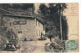 CPA  CHALET HOTEL DE L'OUSIERE , ( Couttet  Gérant ) - Otros Municipios
