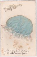 CPA BONNET De SAINTE-CATHERINE - SOIE- DENTELLE-Ecrite En 1928            (6/1/21) - Sainte-Catherine
