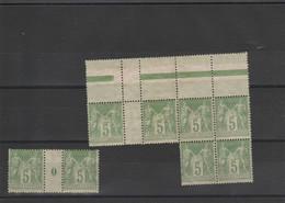 Bloc Timbre N° 102 - 1898-1900 Sage (Type III)