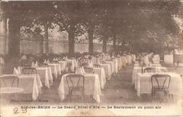 AIX LES BAINS -GRAND HOTEL - Interessante Documento Con FIRME Partecipanti Corso Del 1938 - F. PICCOLO - (rif. D96) - Hotels & Restaurants