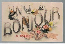 JM06.01 / CPA  /   UN BONJOUR DE HASSELT EN...1910 - Hasselt
