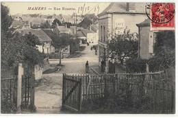 CPA   MAMERS   Rue Rosette - Mamers