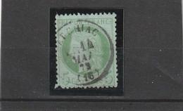 N° 53   - CACHET A DATE /  ARCHIAC  (16) 14 MAI 1874   - REF 10337 + Variété - 1871-1875 Cérès