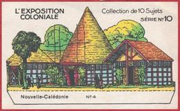 Chocolat Révillon. Série Sur L'Exposition Coloniale, N°10. La Nouvelle Calédonie. Image N°4. Pavillon à Découper. - Revillon