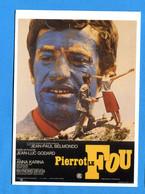 Z094, Pierrot Le Fou, Jean-Luc Godard, Jean-Paul Belmondo, No 56931, GF, Non Circulée - Manifesti Su Carta