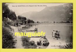 01 AIN / NANTUA / LAC DE NANTUA ET LE SIGNAL DES MONTS D'AIN / ANIMÉE / 1912 - Nantua