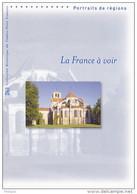 """"""" LA FRANCE A VOIR """" Sur Doc. Officiel De 4 Pages De 2008. N° YT BF 117. Parfait état. DPO - Documenten Van De Post"""
