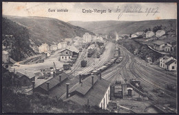 +++ CPA - Luxemburg - LUXEMBOURG - TROIS VIERGES - Gare Centrale - Train - 1907  // - Troisvièrges