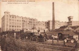 Eindhoven Philips' Gloeilampenfabrieken Stoomlocomotief ZR870 - Eindhoven