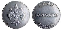 04930 GETTONE TOKEN JETON PARCHEGGIO PARKING S.C.A.F. FIRENZE LA NAZIONE - Non Classificati