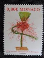 MONACO 2016 Y&T N° 3035 ** - 49e CONCOURS INTERNATIONAL DE BOUQUETS - Nuovi