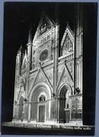 °°° Cartolina - Orvieto Il Duomo Nella Notte Viaggiata (l) °°° - Terni