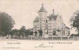 Bergen Op Zoom Kasteel In De Wouwsche Plantage   ZR880 - Bergen Op Zoom