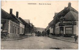 62 DESVRES - Rue De La Gare - Desvres