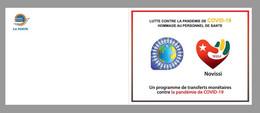 TOGO 2020 - BOOKLET CARNET - SHEET FEUILLET - JOINT ISSUE - COVID-19 PANDEMIC NOVISSI - CORONA CORONAVIRUS NURSE - MNH - Gemeinschaftsausgaben
