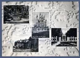 °°° Cartolina - Orvieto Vedute Viaggiata (l) °°° - Terni