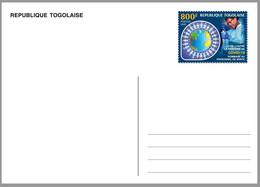 TOGO 2020 - STATIONERY CARD - JOINT ISSUE - COVID-19 PANDEMIC CORONA CORONAVIRUS NURSE - MNH - Emisiones Comunes