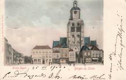Bergen Op Zoom Groote Markt Met Kerk ZR883 - Bergen Op Zoom
