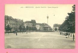 C.P. Bruxelles = Square  Marguerite   :  Quartier  Nord-Est - Brussels (City)