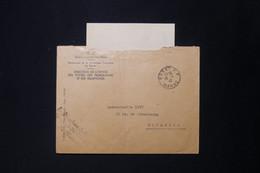 MAROC - Enveloppe Des PTT Du Gouvernement Chérifien - De Rabat Pour Toulouse Avec Contenu - 1942 - L 84105 - Cartas