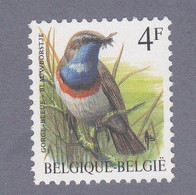 1989 Nr 2321P6** Vogels,blauwborst. - Unused Stamps
