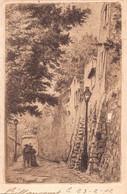 PARIS 18 -  MONTMARTRE  - Rue SAINT VINCENT  ( Carte Ancienne Illustrée Par Eugene DELATTRE ) - Distrito: 18