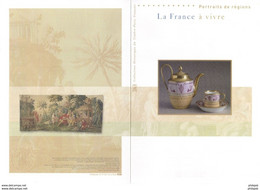 """(Faciale = 5.40 €) """" LA FRANCE A VIVRE """" Sur Document Philatélique Officiel De 2007 De 4 Pages. N° YT BF 113. DPO - Documenten Van De Post"""