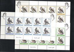Palestine 1998 Birds Of Prey Kleinbogen / Sheets Michel 91-95 Postfrisch / MNH - Palestina