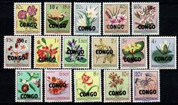 Rep. Congo 1960 OBP/COB 382/397** MNH (2 Scans ) - Republic Of Congo (1960-64)