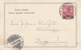 Deutsches Reich Turkei Postkarte 1903 - Offices: Turkish Empire