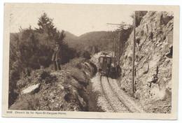 Nyon Tramway St Cergues Morez  Electric Train Tram Strassenbahn Eisenbahn Chemin De Fer Railway 1919 - VD Waadt