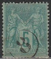 """JOUR De L'AN"" N° 8 S/ SAGE - 1877-1920: Semi Modern Period"