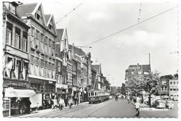 Leiden Blauwe Tram Den Haag Steenstraat Strassenbahn Trolley  NZH 1960's - Leiden